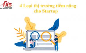 4 Loại thị trường tiềm năng cho Startup